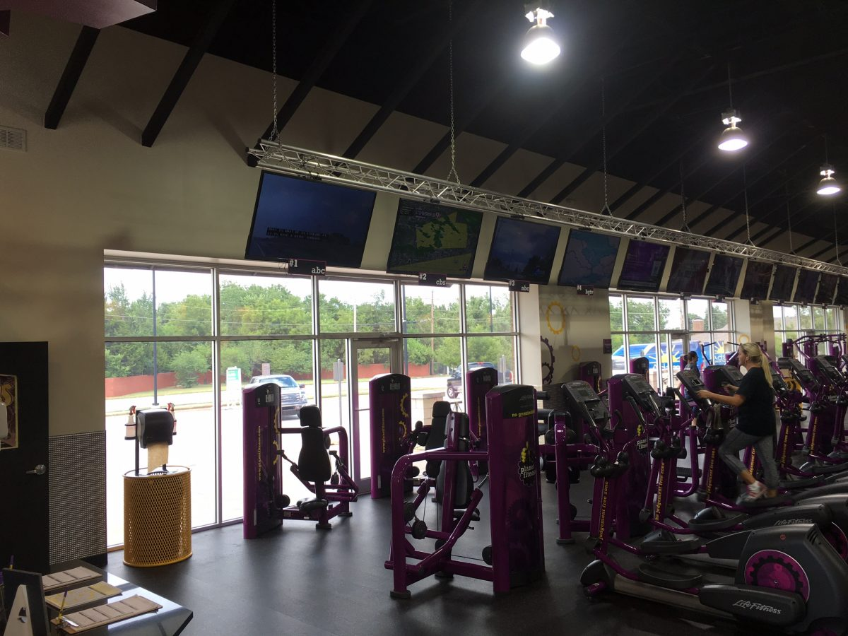 Window Film Provides Cool Down Needed at the Planet Fitness