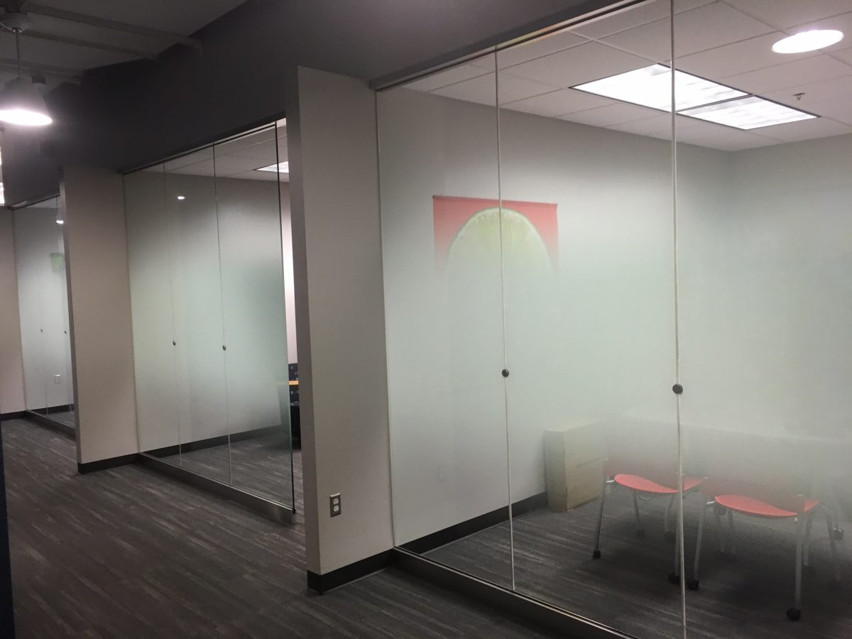 We Install Custom Decorative Glass Film at Sonic Corporation 3