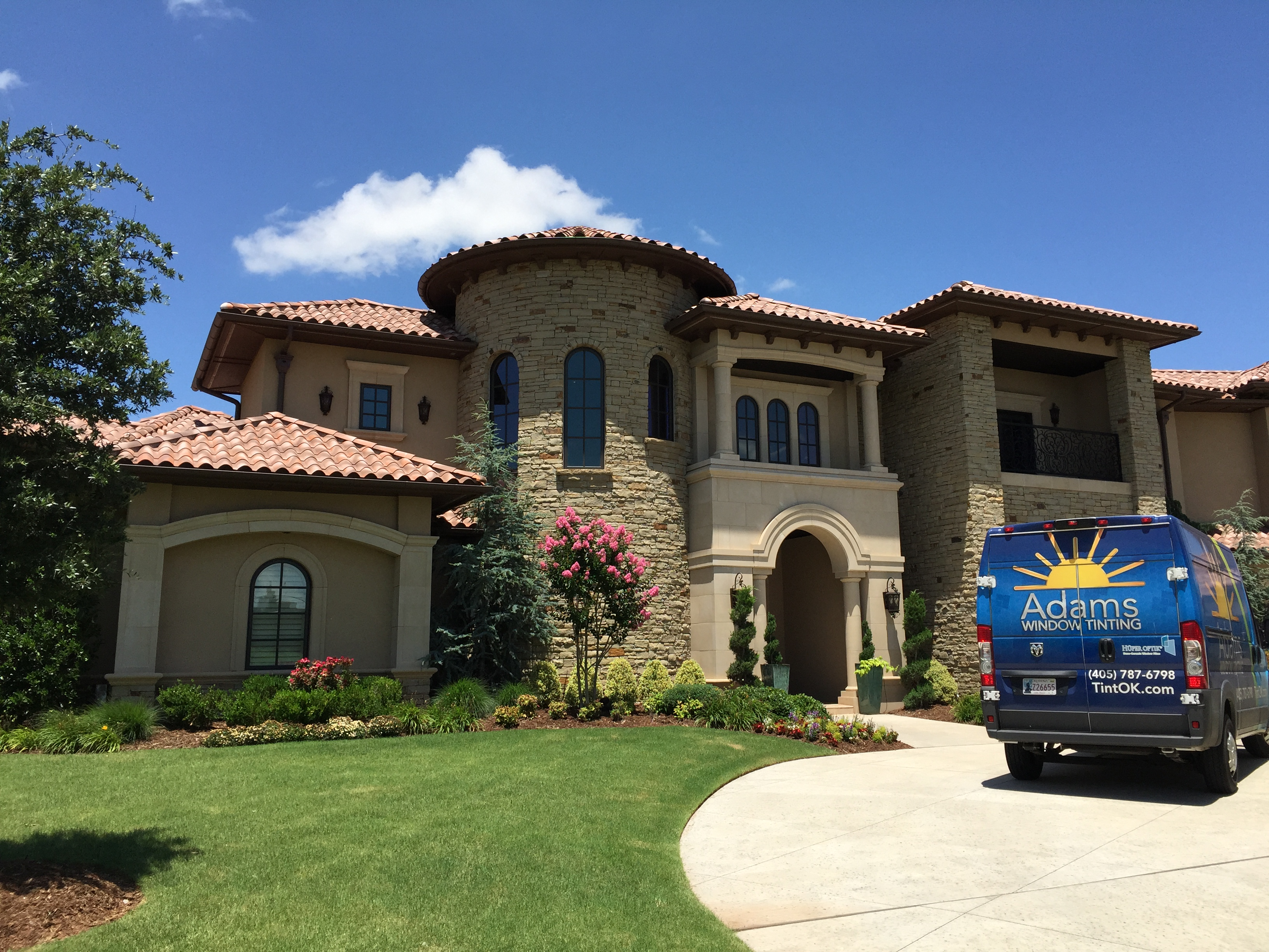 Adams Window Tinting Residential Window Tinting