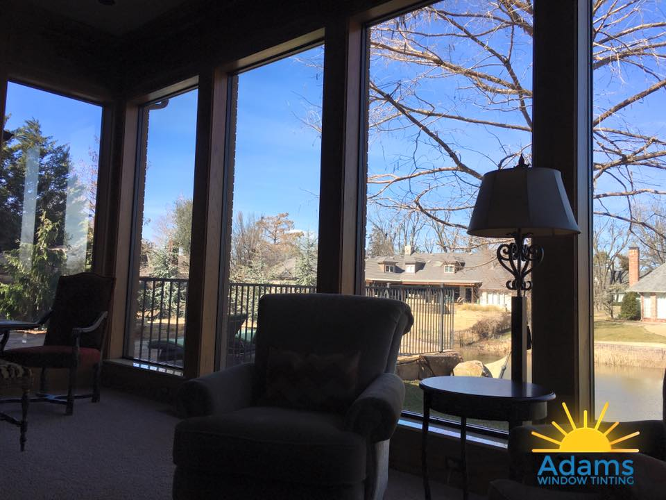 Control the Sun, Maintain the View with window tinting
