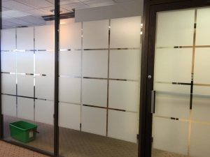 Decorative Glass Films for Creating a Visual Barrier for Privacy 2