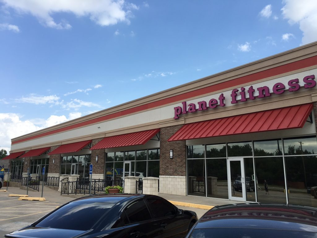 Window Film Provides Cool Down Needed at the Planet Fitness 2